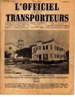 819B)-  TRANSPORT - L´officiel Des Transporteurs -31 Mars 1947 - Transports