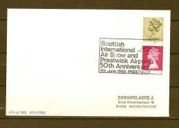 ENGELAND, 08/06/1985 Scottish International Air Show - PRESTWICK  (GA8588) - Flugzeuge
