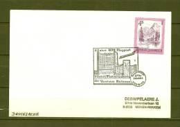 ÖSTERREICH, 31/08/1984 5 Jahre Flugpost - WIEN  (GA8602) - Flugzeuge