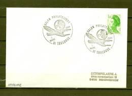 FRANKRIJK, 03/03/1984 Salon Philatelique - TOULOUSE  (GA8605) - Flugzeuge