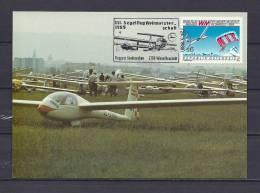 ÖSTERREICH, 04/05/1989 Segelflug Weltmeisterschaft - NEUSTADT  (GA8609) - Flugzeuge