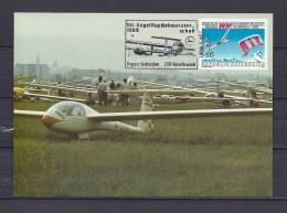 ÖSTERREICH, 04/05/1989 Segelflug Weltmeisterschaft - NEUSTADT  (GA8609) - Avions