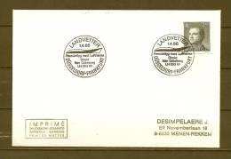 SVERIGE, 01/04/1986 Landvetter - DÜSSELDORF   (GA8622) - Avions