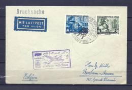 DUITSLAND, 08/09/1955 Messeflughafen - LEIPZIG MOCKAU  (GA8625) - Flugzeuge