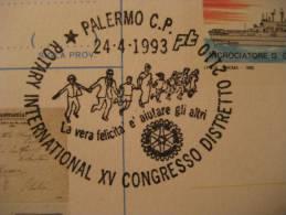 PALERMO 1993 Italie Italy Italia ROTARY - Rotary, Lions Club