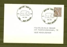 BELGIE, 20/05/1981 Jumelage Saint Lo - SAINT-GHISLAIN  (GA8877) - Ours