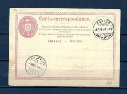 ZWITSERLAND, 27/06/1973 Carte Correspondance - ZURICH  (GA8917) - Stamps