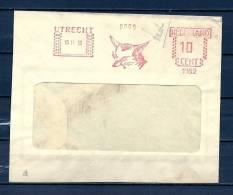 NEDERLAND, 10/11/1950 UTRECHT  (GA8976) - Briefmarken