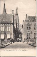 BRUGES RUE DE L'ANE AVEUGLE CPA NO 330 ANIMEE EDITION H.M. UCCLE 1902 - Brugge