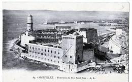 Marseille (Bouches-du-Rhône)  Le Fort Saint-Jean. - Vecchio Porto (Vieux-Port), Saint Victor, Le Panier