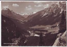 Sufers Und Das Rheinwald - GR Grisons