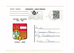 Wapenschilden Postkarte - Entiers Postaux