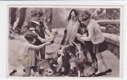 CARD  SANTA CLAUS  BABBO NATALE BIMBI GIOCATTOLI BAMBOLE -FP-V-2-  0882-15126 - Santa Claus