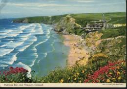 Great Britain  Postcard Watergate Bay - England