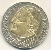 JOHANNES PAULUS II PONT MAX. ROMA CITTA DEL VATICANO LA PIETA MICHELANGELO BUONAROTTI MEDAGLIA TBE - Royal/Of Nobility