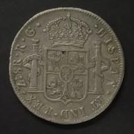 @Y@  1821-RG MEXICO-ZACATECAS 8 Reales Silver VF - Mexico