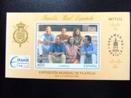ESPAÑA SPAIN ESPAGNE 1996 EXPO FILATELIA   Edifil Nº 3428 + 3433 ** Yvert Nº BF 70 -71  ** MNH - Exposiciones Filatélicas