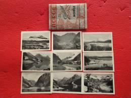 Norge Norway , Lot 25 Small Postcards Look All Hjorundfjord Gieranger Utvik Nordkap Loenvaan And More... - Norvège