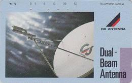 Télécarte Japon / 330-35179 - ESPACE - Parabole DX Antenna - SPACE Japan Phonecard - 343 - Ruimtevaart