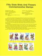 U.S. SP 581   STATE  BIRDS And  FLOWERS - Souvenirs & Special Cards