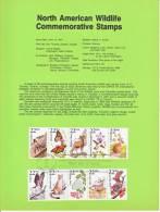 U.S. SP 795   NORTH  AMERICAN  WILDLIFE - Souvenirs & Special Cards