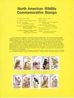 U.S. SP 796   NORTH  AMERICAN  WILDLIFE - Souvenirs & Special Cards