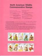 U.S. SP 797   NORTH  AMERICAN  WILDLIFE - Souvenirs & Special Cards
