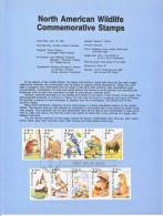 U.S. SP 798   NORTH  AMERICAN  WILDLIFE - Souvenirs & Special Cards