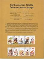 U.S. SP 799   NORTH  AMERICAN  WILDLIFE - Souvenirs & Special Cards