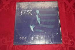 JFK  °  THE SPEECH - 45 T - Maxi-Single
