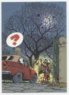 TRESORS DU JOURNAL DE SPIROU  CARTE ILLUSTREE PAR FRANQUIN 1985   N° 52  CPSM 10 X 15 NEUVE - Stripverhalen