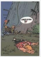 TRESORS DU JOURNAL DE SPIROU  CARTE ILLUSTREE PAR FRANQUIN 1985   N° 51  CPSM 10 X 15 NEUVE - Stripverhalen
