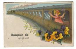 Bonjour De Soignies ( Train Fleurs ) - Soignies