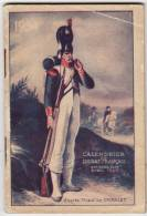 Calendrier Du Soldat Français 66 Pages Octobre 1933 Avril 1935 Agenda Militaria - Kalenders