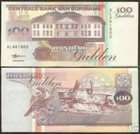 * SURINAME - 100 GULDEN 1998 - UNC P 139 - Surinam
