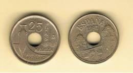 ESPAÑA - 25 Pesetas 1997 Melilla  Circulada - [ 5] 1949-… : Kingdom