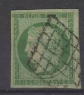 FRANCE N° 2 A Obl. Superbe Signé R.Calves - 1849-1850 Cérès