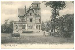Cpa: 62 BERCK PLAGE Le Reingam Parc, Aciennement Bois Magnier Acheté Par La Ville (animé, Jardinier)  1916 N° 95 - Berck
