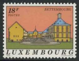 Luxemburg Luxembourg 1992 Mi 1291 ** Inner Courtyard Of Bettembourg Castle / Schloß Collart, Bettemburg / Château - Kastelen