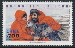 CHILE 2001 ANTARTICA CHILENA Petrel Gigante 1v** - Antarctic Wildlife