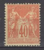 FRANCE N° 94 * - 1876-1898 Sage (Type II)