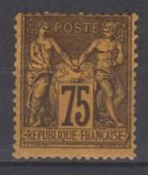 FRANCE N° 99 * - 1876-1898 Sage (Type II)