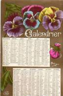 CALENDRIER  DE 1917 LES PENSEES WW1 - Guerra 1914-18