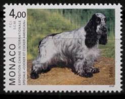 N° 1980 De Monaco - X X - ( E 954 ) - Cani