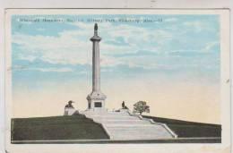 CPA WISCONSIN MONUMENT,NATIONAL MILITARY PARK,VICKSBURG, MISS - Etats-Unis