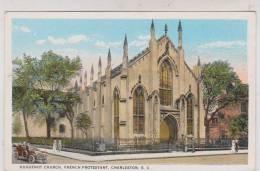 CPA  HUGUENOT CHURCH. FRENCH PROTESTANT, CHARLESTON SC - Charleston