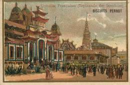 Chromos Réf. 352. Biscuit Pernot - Colonies Françaises - Esplanade Des Invalides - Pernot