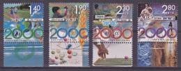 Israel - 2000 - The Year 2000 - Series With Tab - MNH (10629) - Israel