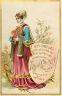 Chromos Réf. 392. Le Rhum Chauvet - Compagnie Des Antilles - Exposition Universelle 1889 - Membre Du Jury - Kaufmanns- Und Zigarettenbilder