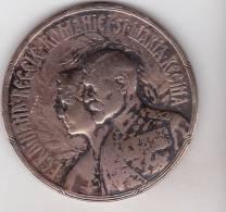 Romania Old Medal 1922 - Royalty - Coronation Of King Ferdinand At Alba Iulia - Royal / Of Nobility